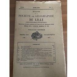Bulletin de la Société de Géographie de Lille