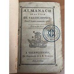 Almanach de la ville de Valenciennes