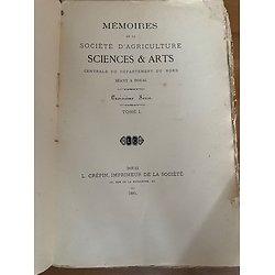 Mémoire de la société d'Agriculture Sciens et Arts séant à Douai